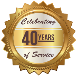 Celebrating 40 years of Service