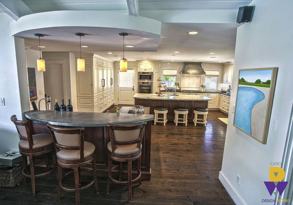 Deary Clean Kitchen Design Long View