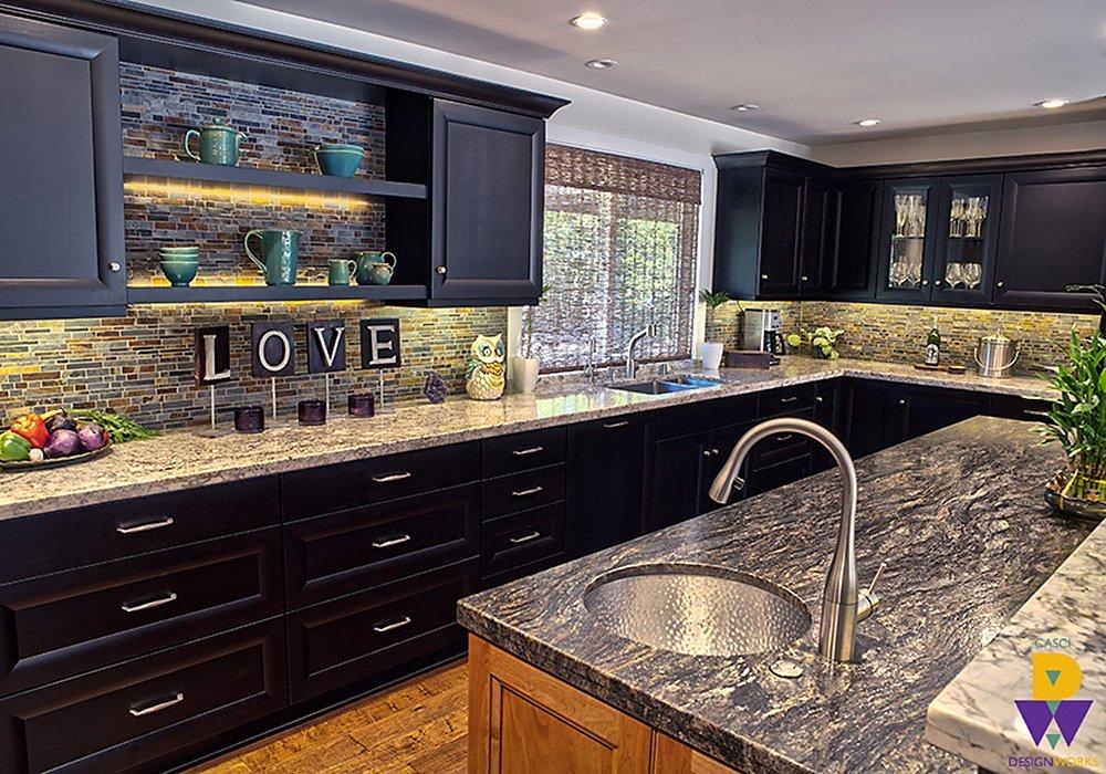 Valentina Granite Kitchen Finish