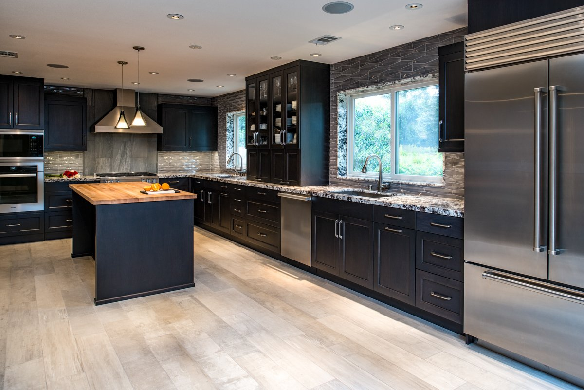 Wong kitchen long View Design by Casci Designworks
