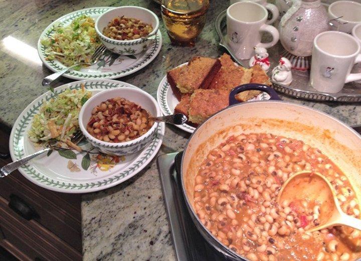 Kitchen Designer in the kitchen: Spicy black-eyed peas