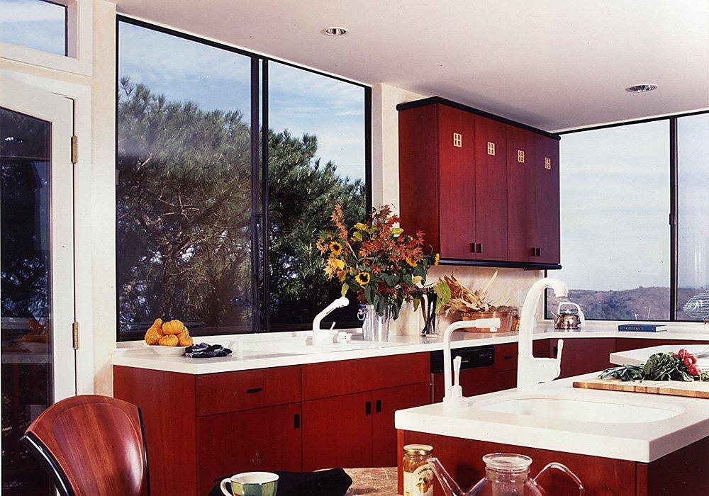Luke Red Color Home Interior