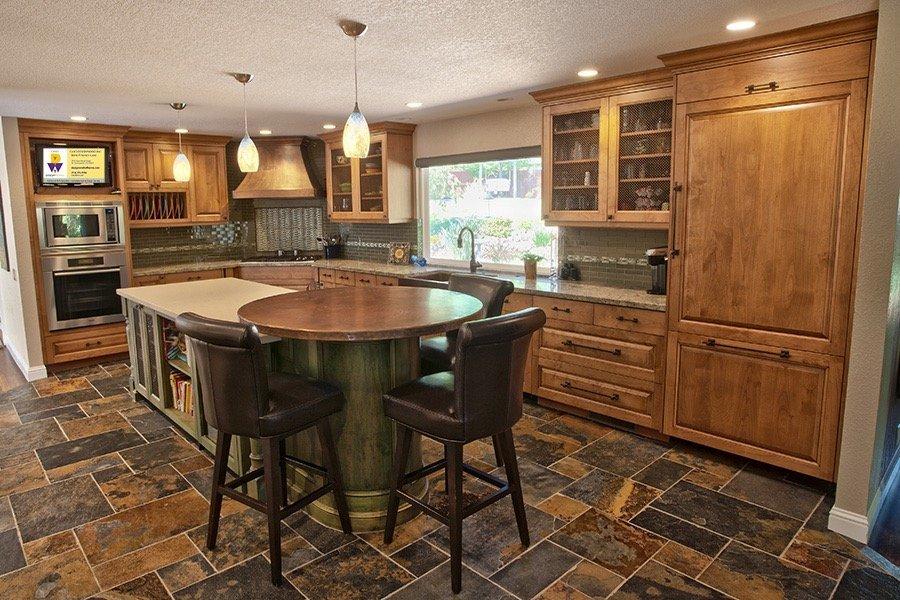 Custom cabinets designed by Casci Designworks